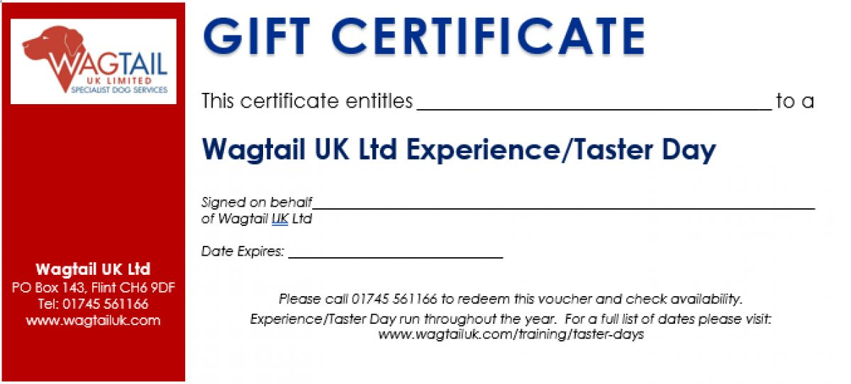 Wagtail Gift Vouchers